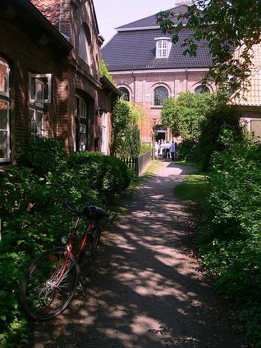 Weg zur Klosterkirche Uetersen