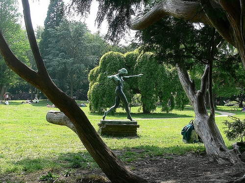 Jenischpark – Heile Welt und Kunstgenuß