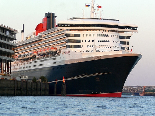 Queen Mary II Bilder und Videos