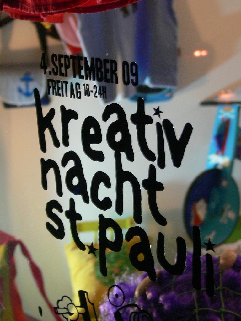 Kreativnacht St.Pauli 2009 – So war die Nacht der Charmanz