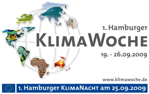 Klimawoche in Hamburg in der Europapassage