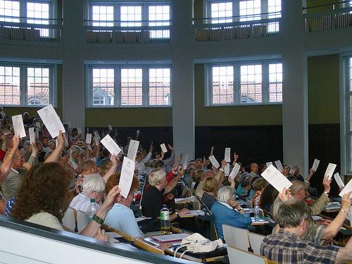 Die 43. Sitzung des Hamburger Spendenparlaments