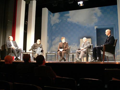 Bühnengespräch in den Hamburger Kammerspielen