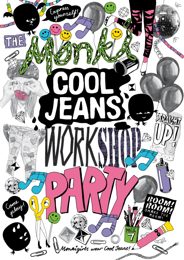 Pimp Deine Jeans – Monki Cool Jeans Vernissage & Party