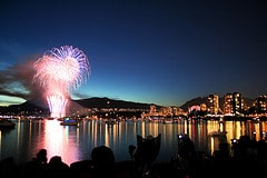 Vancouver celebration of light