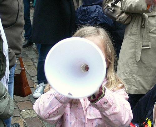 Demo gegen höhere Kita-Gebühren