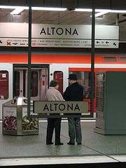 Bahnhof Mitte Hamburg Altona