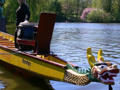 Drachenboot-Rennen 2010 in Allermöhe