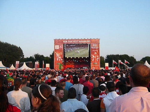 WM 2010 – Public Viewing in Hamburg