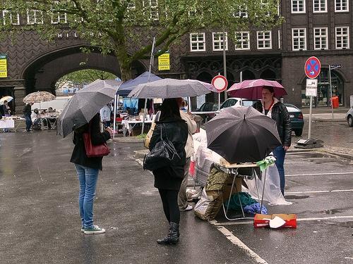 Hinz&Kunzt Flohmarkt – Bild der Woche
