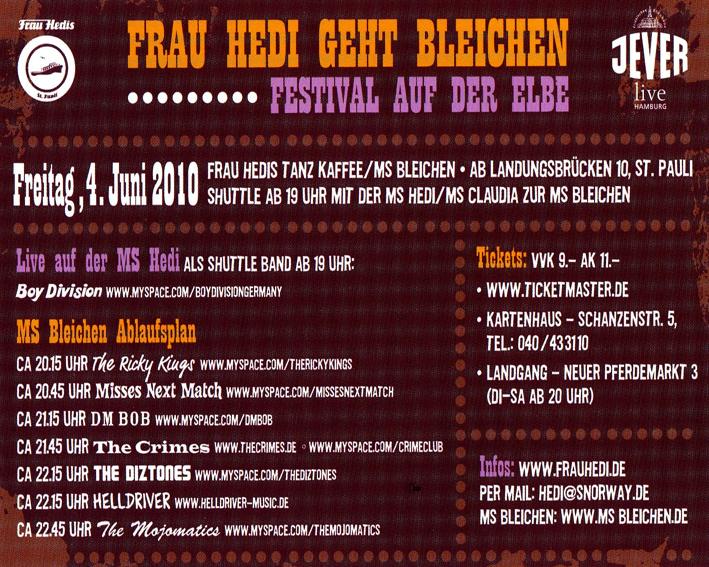 MS Bleichen Festival im Hamburger Hafen