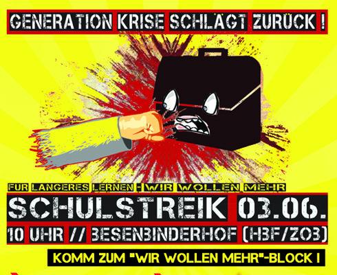 schulstreik 2010