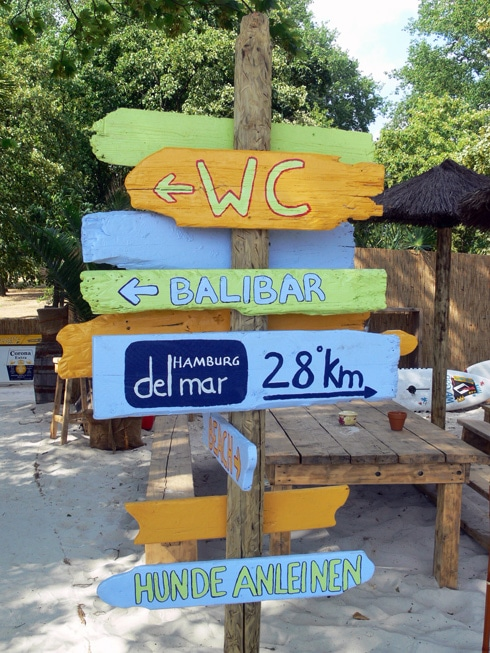 Beachclub Wedel bei Hamburg