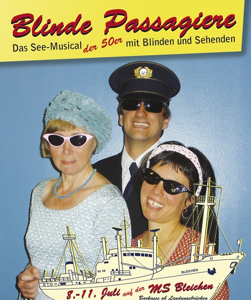 Blinde Passagiere – See-Musical im Hamburger Hafen