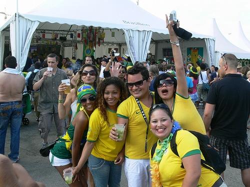 Brasilien-Fans nach der Niederlage im WM-Viertelfinale