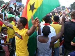 Ghana in Hamburg