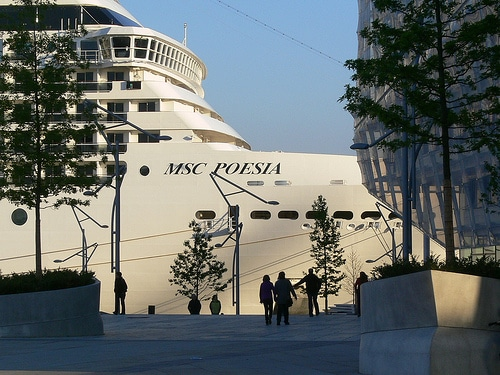 MSC Peosia Cruise Center Hamburg