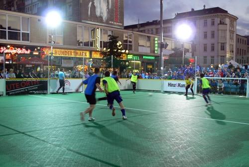 Streetsoccer – 5. Deutsche Fußballmeisterschaft der Wohnungslosen