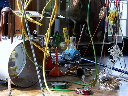 Musikinstrumente aus Müll für Kinder in Hamburg