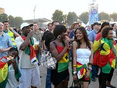 Ghanas WM-Drama auf dem Heiligengeistfeld