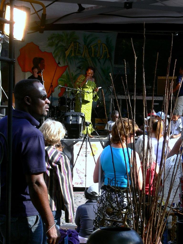 Alafia Afrikafest in Hamburg Ottensen