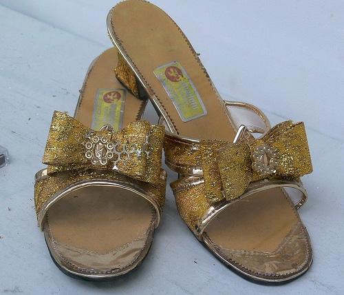 Die goldenen Schuhe der Stadt Hamburg