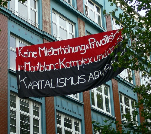 Der Kampf um den MontBlanc Komplex in Hamburg