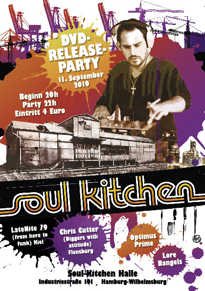 Soul Kitchen Film DVD-Release Party in Hamburg Wilhelmsburg