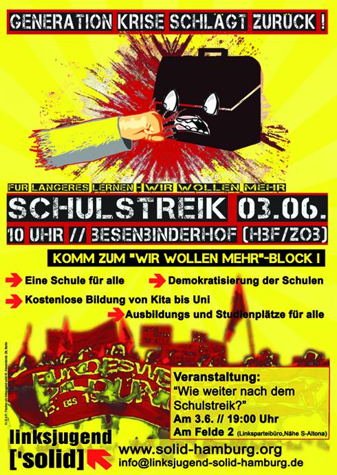 Generation Krise schlägt in Hamburg zurück