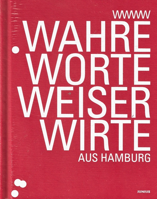 Buch: Wahre Worte weiser Wirte aus Hamburg