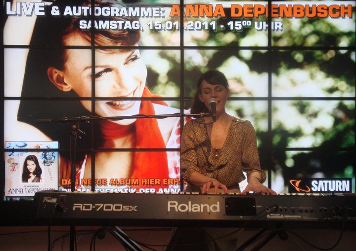 Verliebt in Anna – Konzert der Anna Depenbusch im Knust