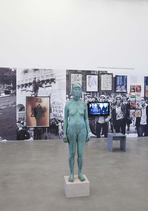 Installtion in der Ausstellung FREE SPEECH im Kunstverein Hamburg