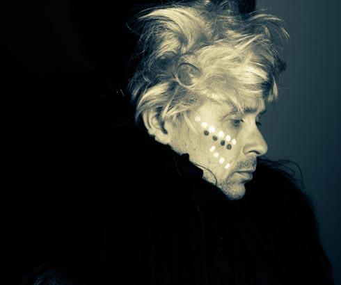Foto des finnischen Künstlers Jimi Tenor