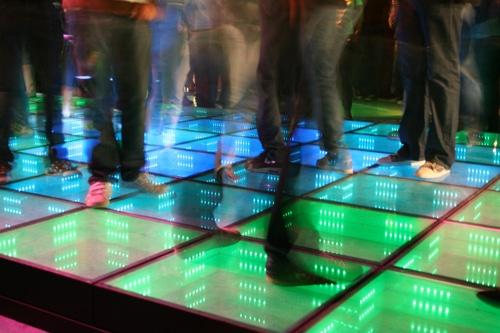 Tanzstrom auf dem Rathausmarkt
