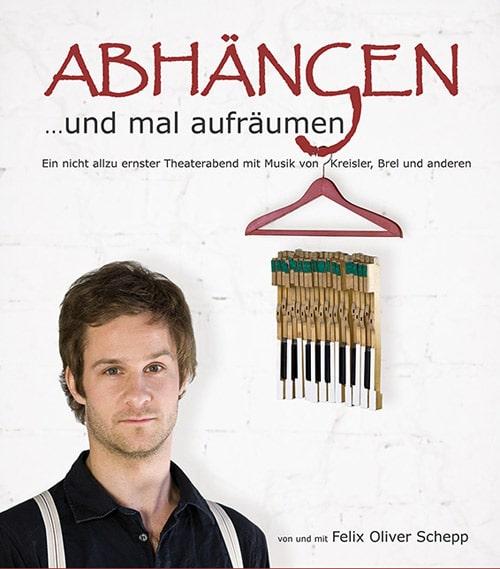 Abhängen und mal aufräumen – Ein komischer Theaterabend mit Felix Oliver Schepp