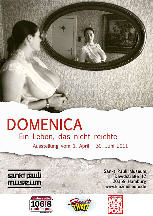 Domenica - Ein Leben das nicht reichte. Ausstellung im Sankt Pauli Museum Hamburg