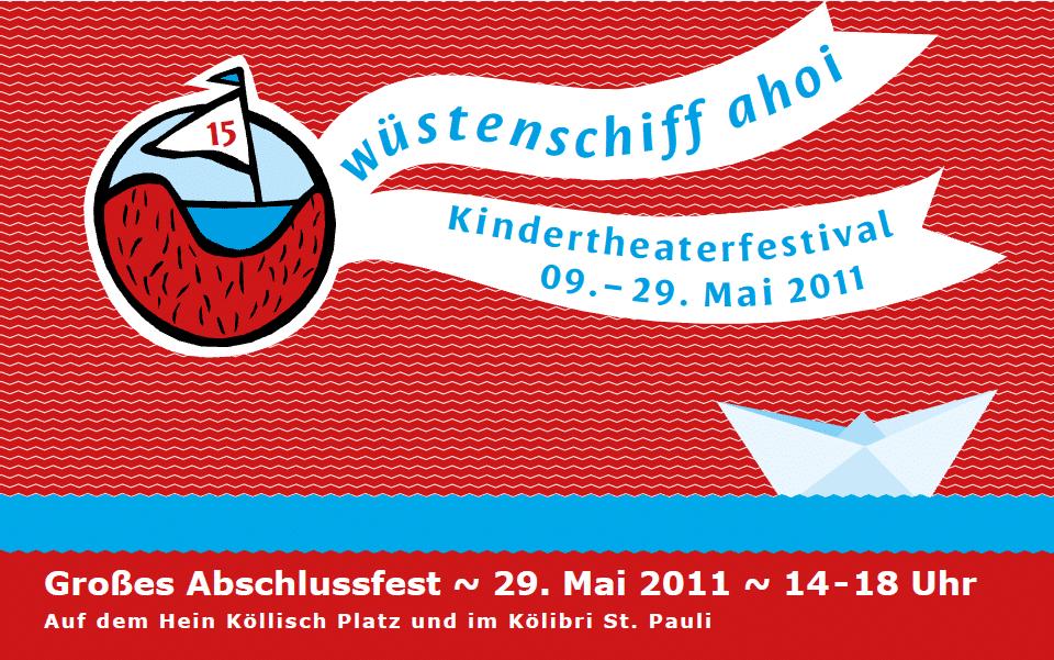 Wüstenschiff ahoi – Kindertheaterfestival  in Hamburg