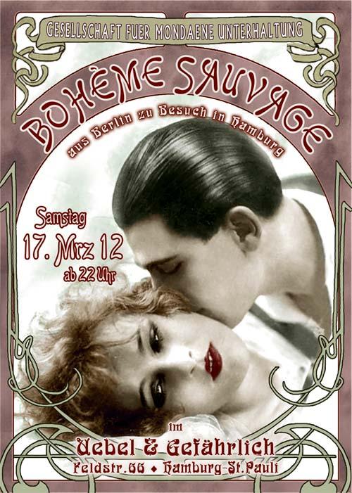 BOHÈME SAUVAGE Party im Uebel & Gefährlich – 2 x 2 Freikarten zu gewinnen