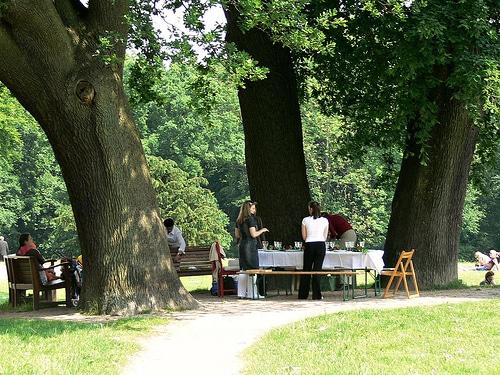 Picknick im Jenischpark
