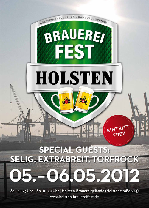 Rocking Holsten –  Brauereifest 2012