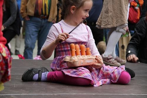 Gemüseorchester und andere Highlights beim Kindermusikfest laut & luise