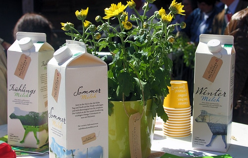Neues vom Bioleben: Sommermilch auf Öko-Hemd