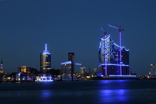 Blue Port: Elbphilharmonie von Stefan le Breton