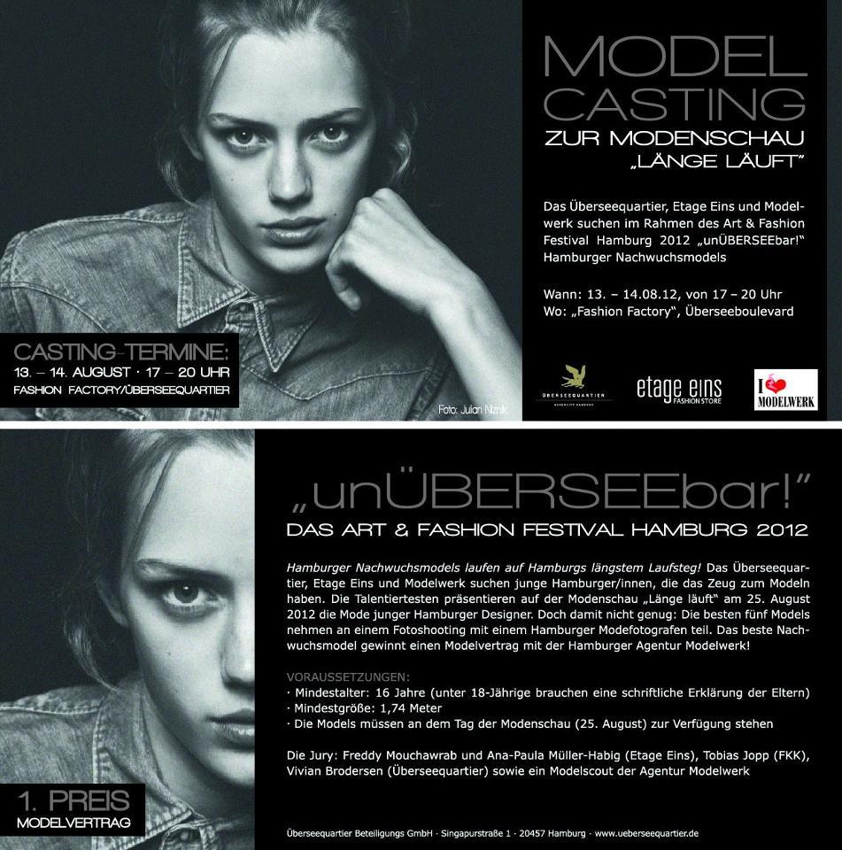 Modelcasting Hamburg 2012