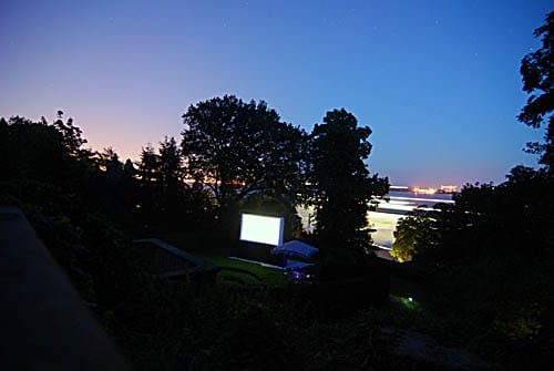 Open Air Kino im Altonaer Volkspark