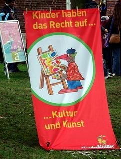Kinder haben ein Recht auf Kunst und Kultur