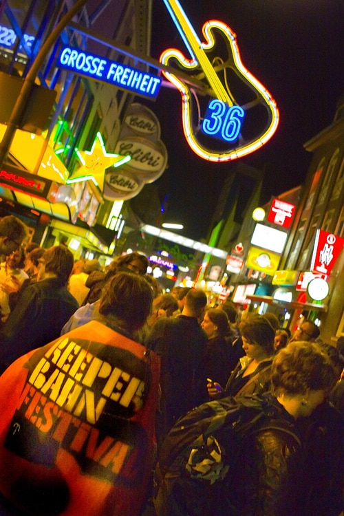 Hamburg steht Kopf zum Reeperbahnfestival