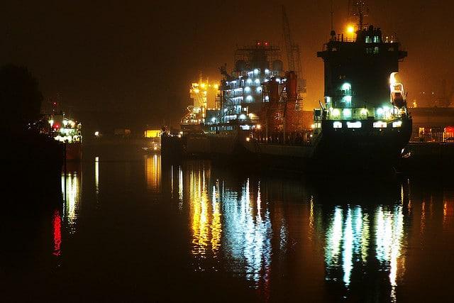 Fukushima im Hamburger Hafen