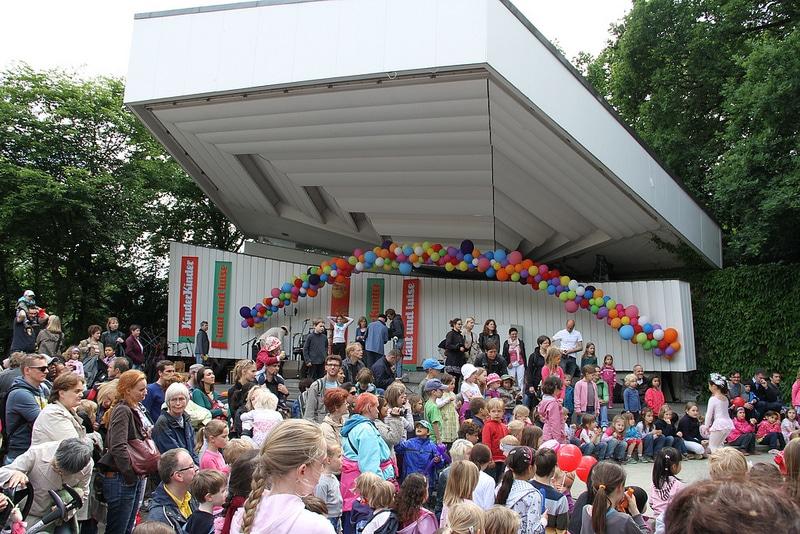 Kindermusikfest laut & luise 2013 in Planten un Blomen