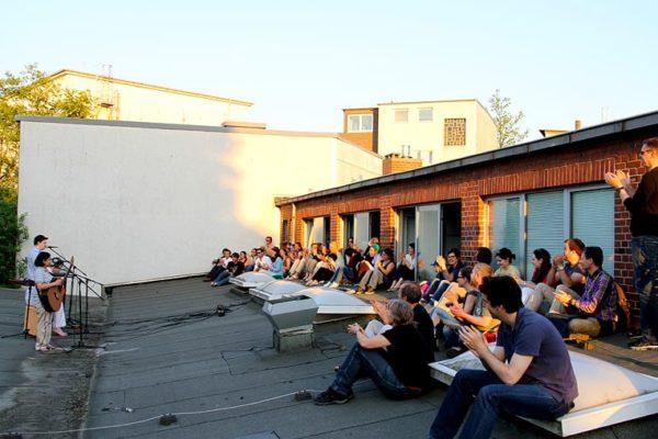 The Living Music Box auf dem Dach 2013